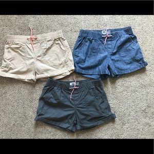 Girls Old Navy Cotton Blend Shorts